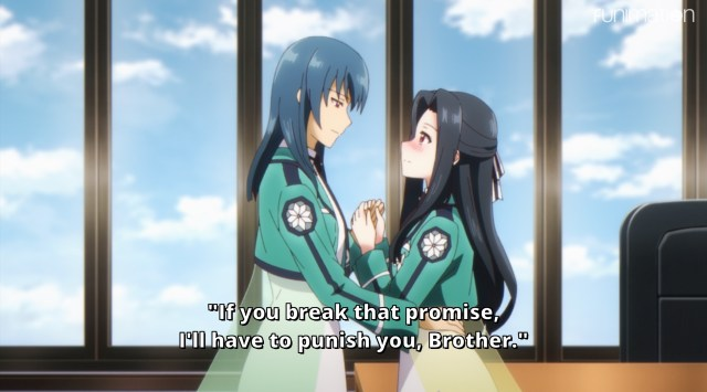 The Honor at Magic High School Episode 3: Mayumi found an accomplice in Suzune