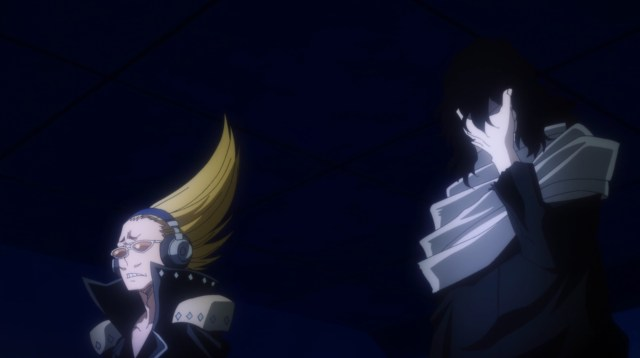 My Hero Academia Season 5 Episode 107: Present Mic and Eraser Head learned their friend's dead body had been turned into Nomu