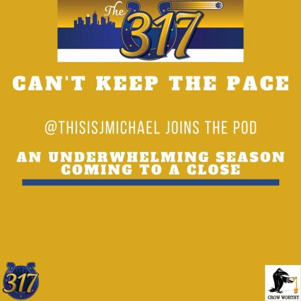 The 317 Podcast: Can't Keep the Pace