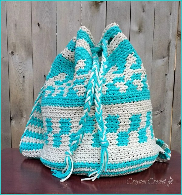 Crochet Mochila Backpack Pattern