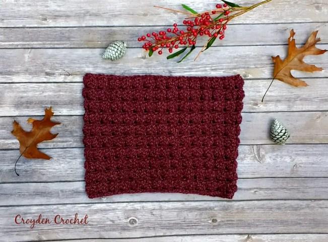 Lenape Cowl Crochet Pattern