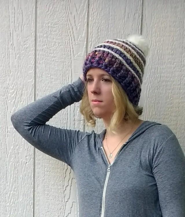 Spectrum Crochet Beanie Pattern