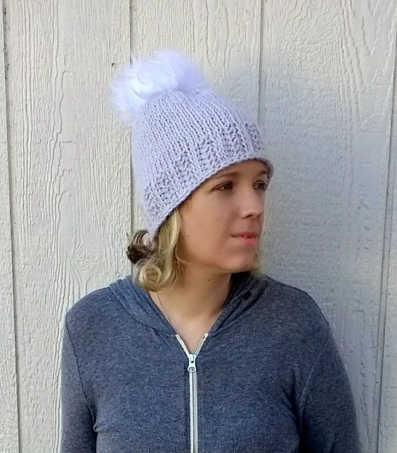 Easy Tunisian Crochet Beanie - A free pattern by Croyden Crochet