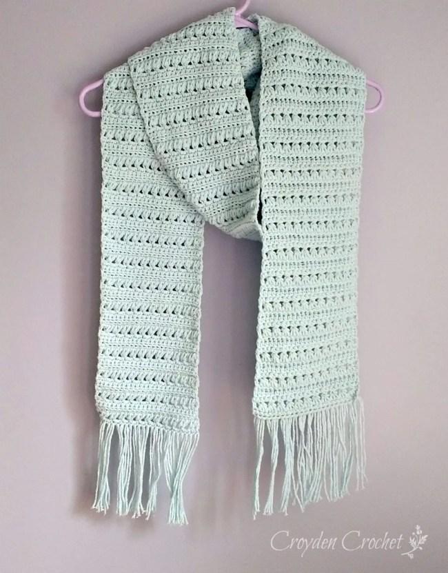 Mattina Crochet Scarf A Free Pattern By Croyden Crochet