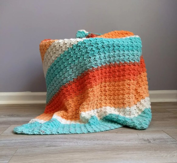 Everyday Crochet Baby Blanket