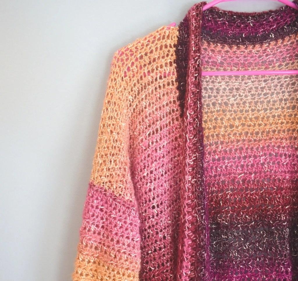 crochet Changeover Cardigan Pattern