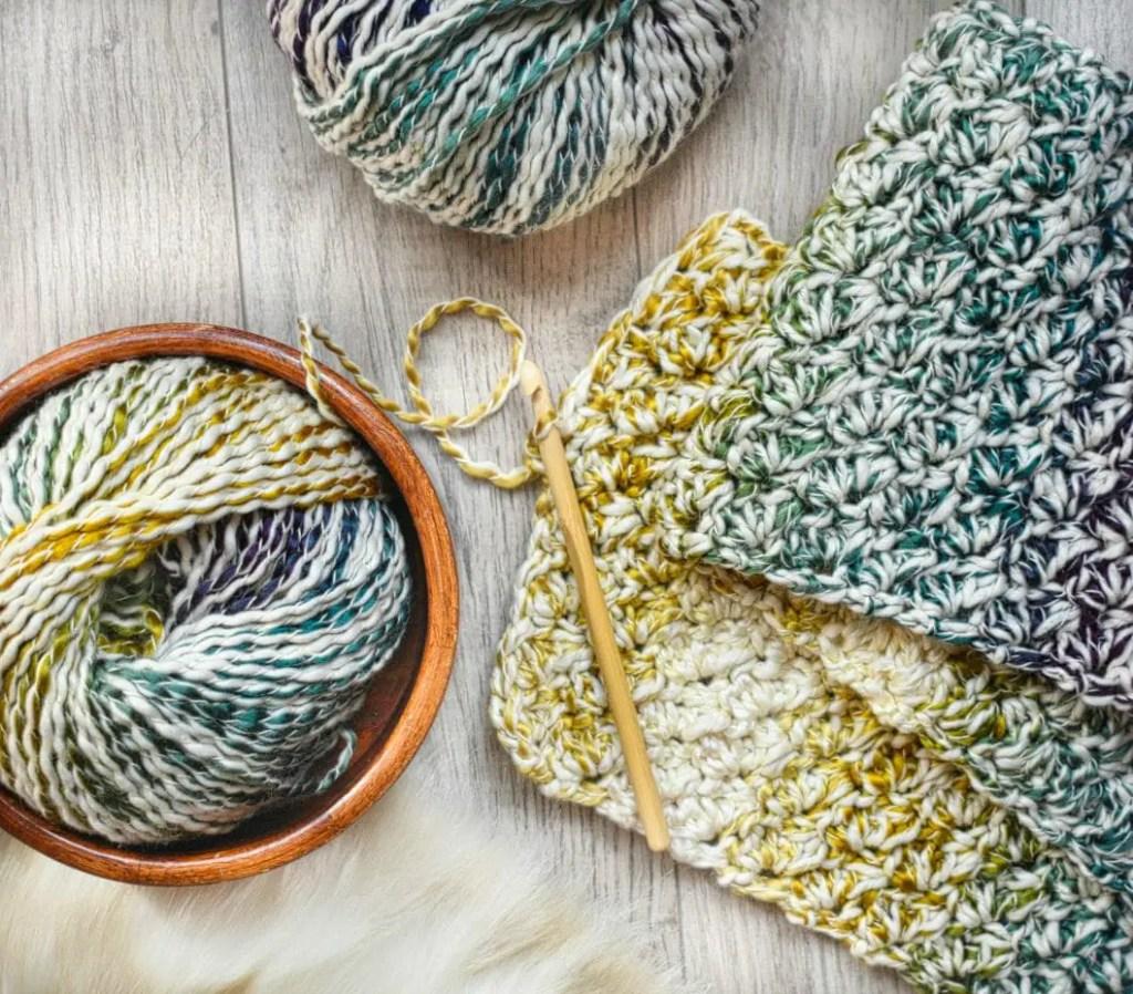 Foxtrot Crochet Scarf