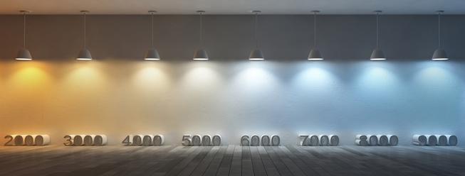 Led Light Bulb Color Chart