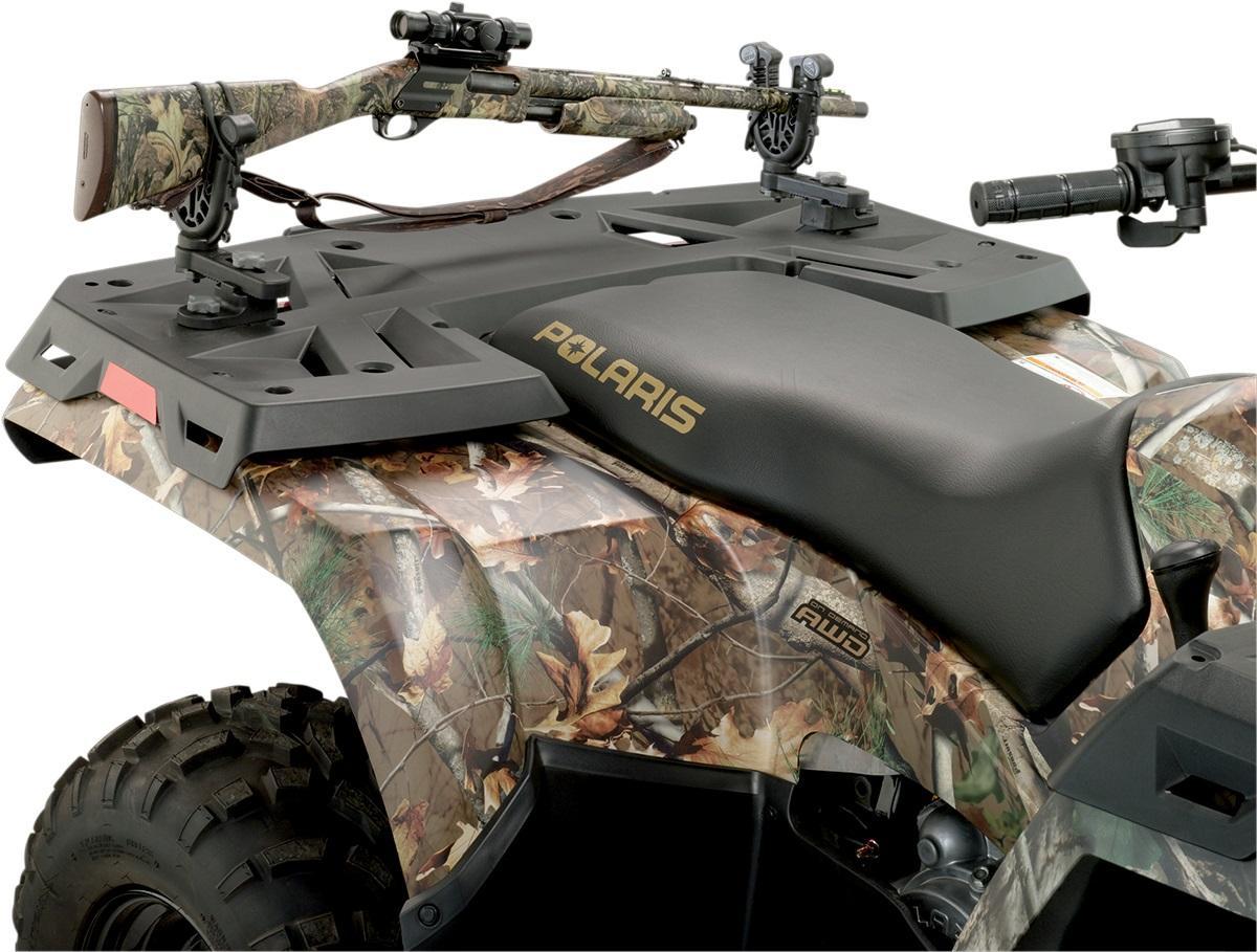 moose flexgrip single gun bow rack for polaris atv utv pffg1
