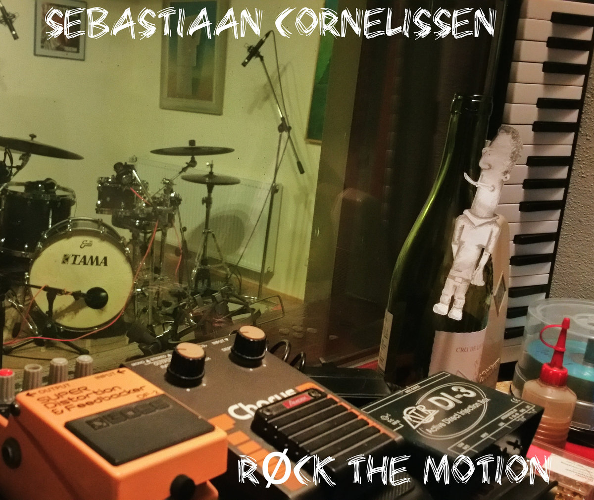 Sebastiaan Cornelissen upcoming album - Rock the Motion