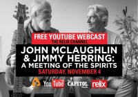 John McLaughlin & Jimmy Herring: A Meeting of the Spirits : 11/4/17 : The Capitol Theatre Full Show