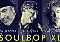 Soulbop XL: Randy Brecker & Bill Evans feat. Simon Phillips – Leverkusener Jazztage 2018