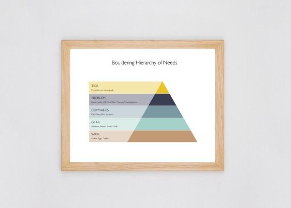 Minimal Climbing Poster design