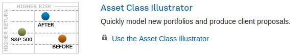 Asset Class Illustrator