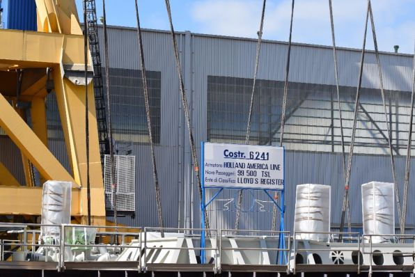 Pinnacle Class Keel Laying