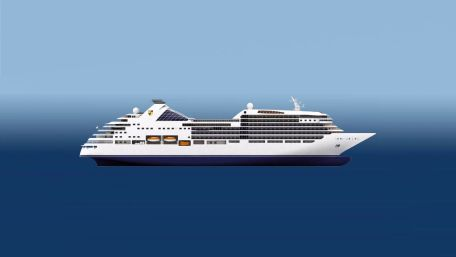 Rendering of Seabourn Encore.