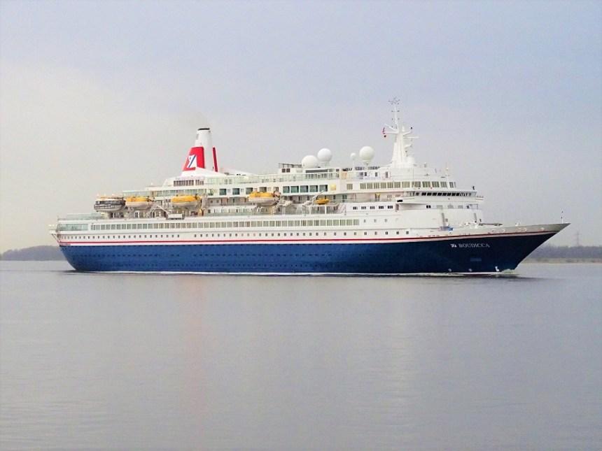 Royal-Viking-Sea- Vor 50 Jahren: Stapellauf der ROYAL VIKING STAR
