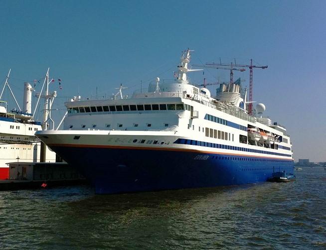 Explorer-029 Vor 20 Jahren: Letzter Stapellauf eines Passagierschiffs bei Blohm + Voss