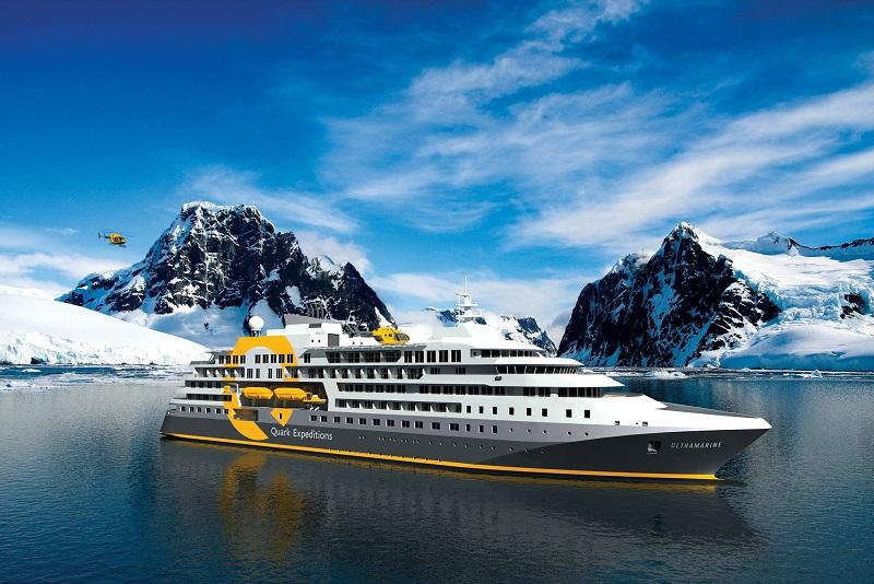 u-ons97w Expeditions-Kreuzfahrtschiff ULTRAMARINE auf Probefahrten
