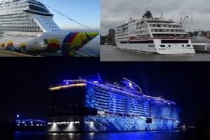 Kreuzfahrtschiffe 2019
