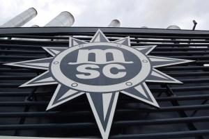MSC Emblem Schornstein