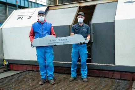MSC-Euribia-the-first-steel-cut-of-msc-euribia-1024x683 Baustart für MSC EURIBIA