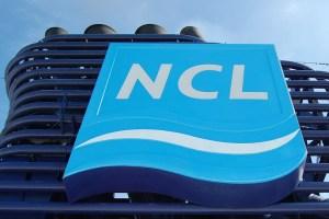 NCL-Emblem am Schornstein