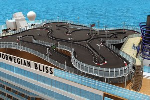 NORWEGIAN BLISS Race track