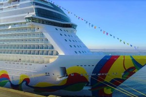 Norwegian Encore - Bordrundgang