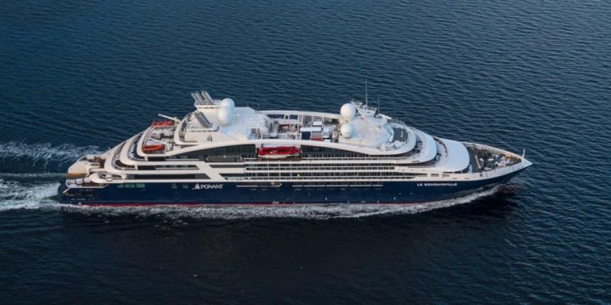 PONANT-Le-Bougainville-auf-hoher-See-©-PONANT-Philip-Plisson-1 Die neuen Schiffe sind unterwegs
