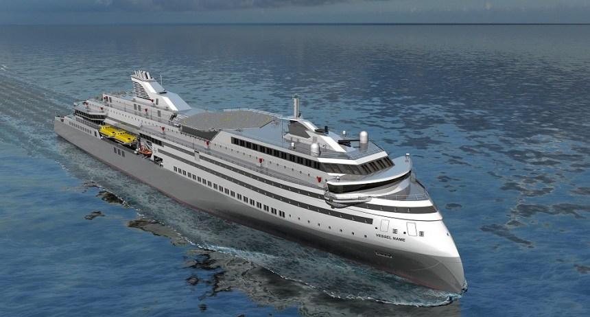 ULSTEIN-RX104-RoPax Bald mehr X-Bow-Passagierschiffe?