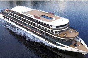 Electric river cruise ship YANGTZE RIVER THREE GORGES 1