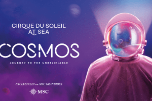 cirque du soleil at sea - COSMOS, Journey to the Unbelievable