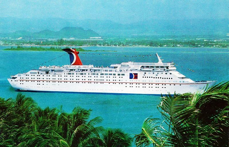 tropicale OCEAN DREAM unterwegs zur Abwrack-Werft