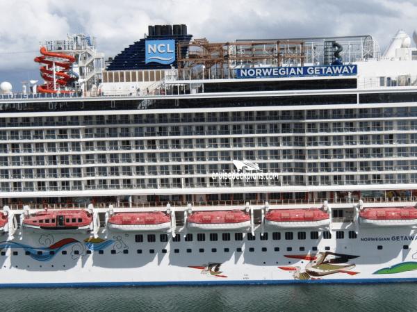 Norwegian Getaway Deck Plans, Diagrams, Pictures, Video