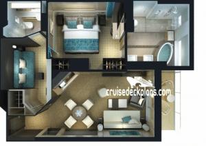 Norwegian Breakaway 2Bedroom Family Villa Details