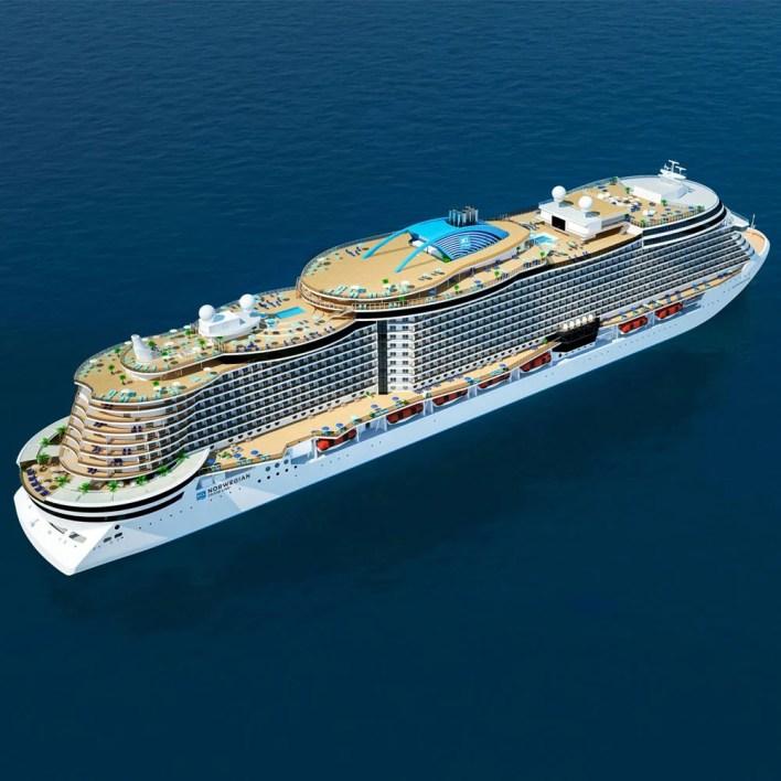 Norwegian Cruise Line Reveals First Details on Norwegian Prima
