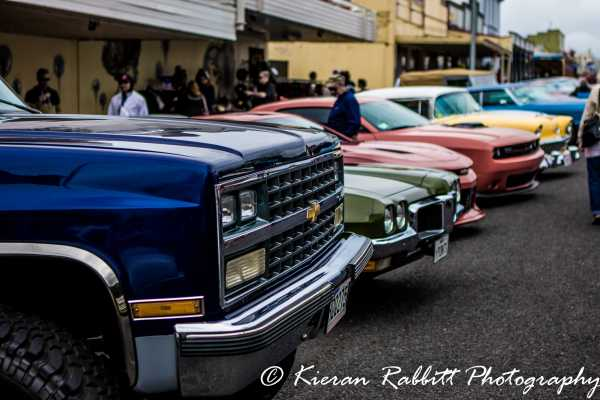 Parked Up at the Aroha Cruise In