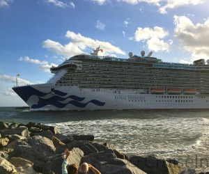 Royal Princess departing Port Everglades ©CruiseInd