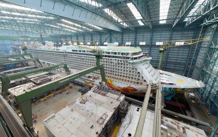 Norwegian Getaway Shipyard
