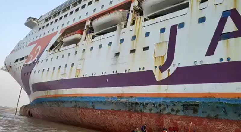 Karnika Beached for Scrapping In India - Cruise Industry News   Cruise News