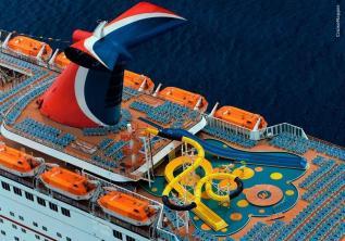 Carnival Fascination deck 11 plan | CruiseMapper