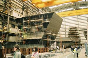 cruise ship construction and design