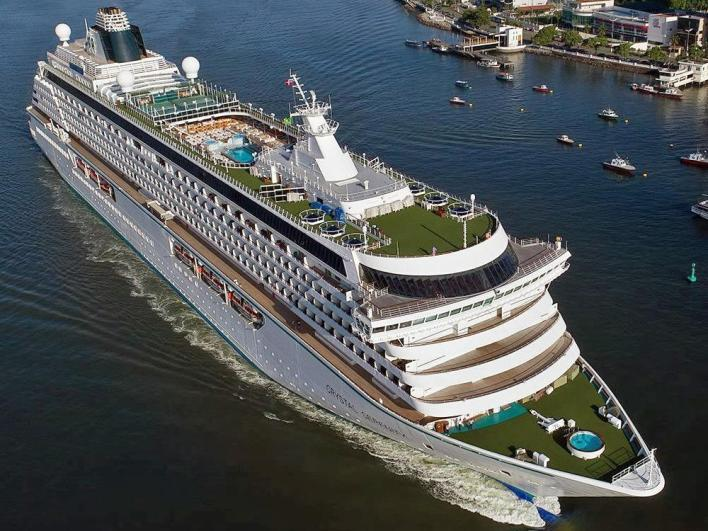 Crystal Serenity Itinerary, Current Position, Ship Review   CruiseMapper
