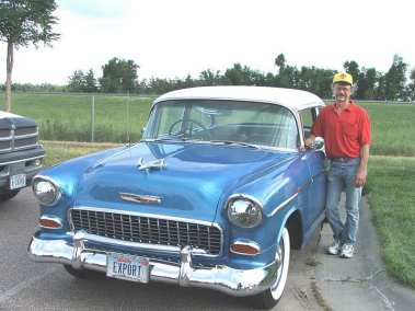 Steve Stickney, 1955 Chevy Bel-Air