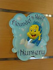 Nursery op Disney Magic