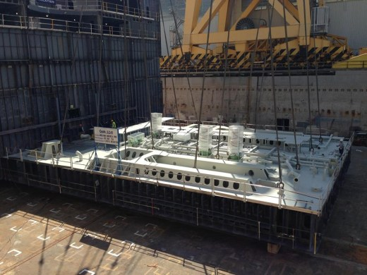 keel laying ne pinnacle ship hal