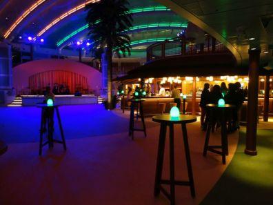 AIDAbar bij Beachclub