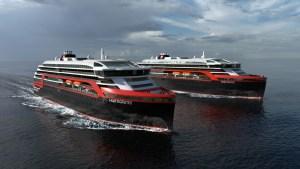 Hurtigruten twee nieuwe expeditieschepen