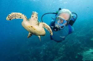 Jean-Michel Cousteau (Photo Credit - Carrie Vonderhaar, Ocean Futures Society)